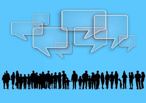 Menschen im Dialog
