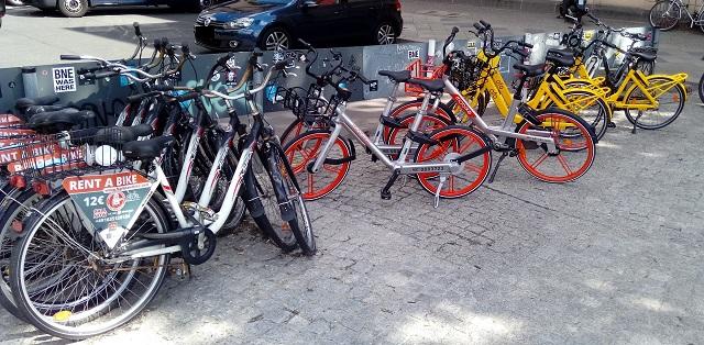 Leihfahrräder in Berlin