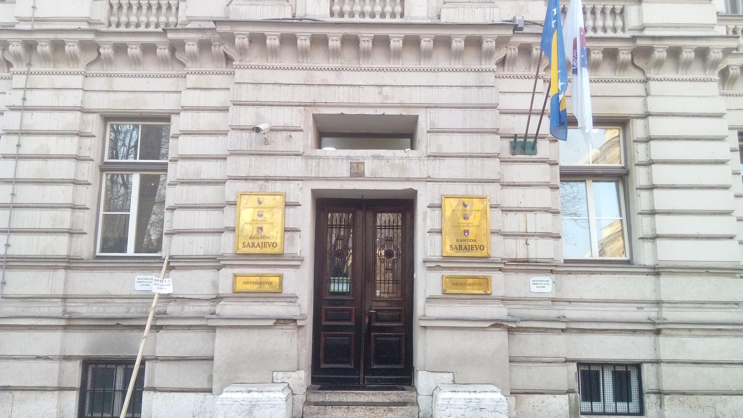 Ministry of Labour, Sarajevo