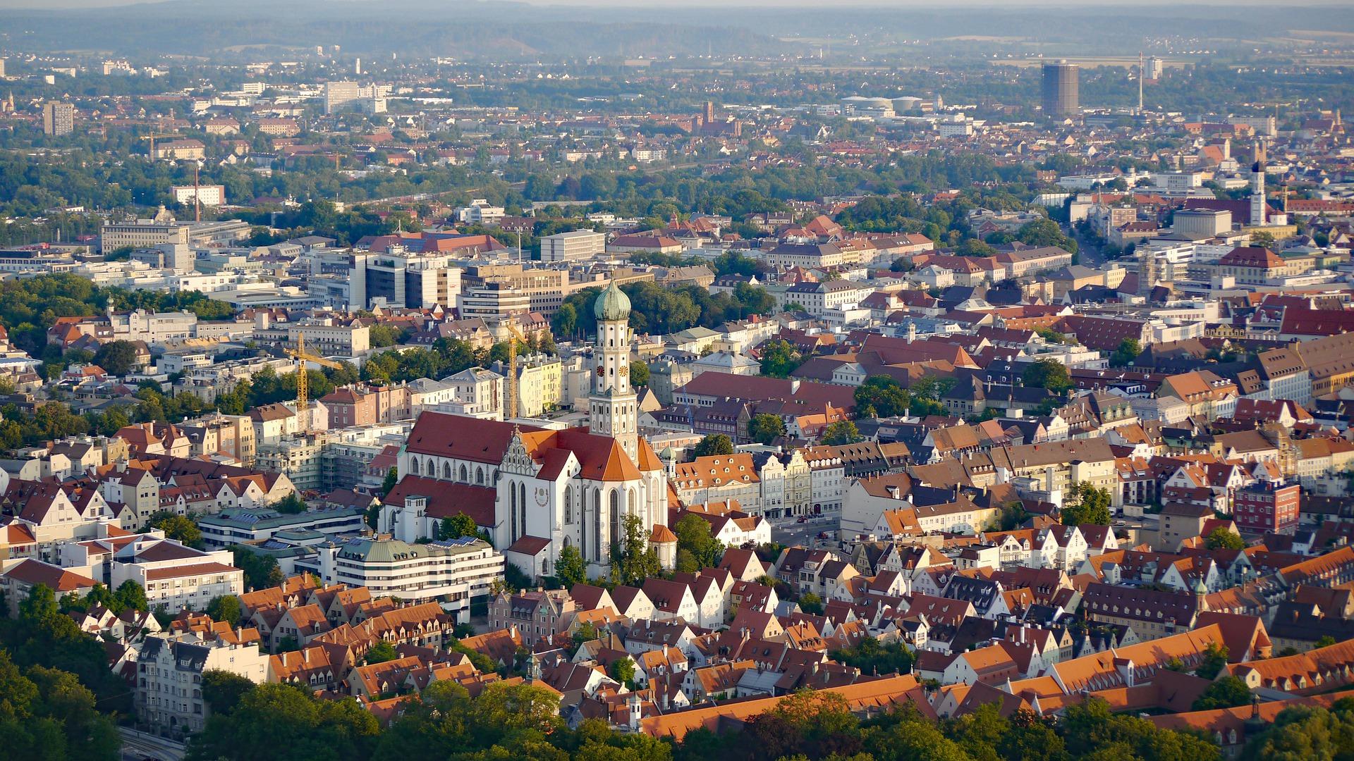 Luftbild Augsburg
